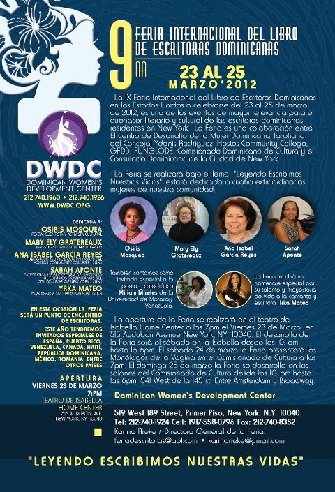 9na Feria de Mujeres Escritoras USA