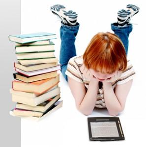 Ser o no ser E-book es la pregunta y respueta.